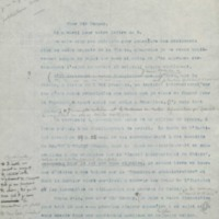 Lettre à William Ramsay - 09 décembre 1912