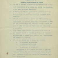 « Organisation de l'Institut international de Chimie » - 1911