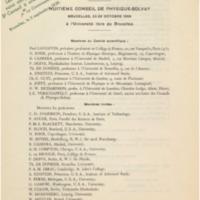 Huitième Conseil de physique Solvay annulé