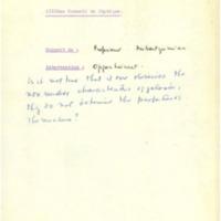 Interventions et commentaires sur le rapport du professeur Ambartzumian présenté lors du treizième Conseil de physique Solvay - 1964
