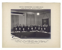 Cinquième Conseil de chimie Solvay, photographie de groupe