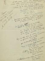 « Toast au banquet offert par l'Institut Solvay de Chimie le 6 oct. 1934 », cinquième Conseil de chimie Solvay