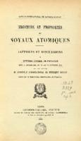 Institut International de Physique Solvay (1934). <em>Structure et propriétés des noyaux atomiques: rapports et discussions du Septième Conseil de physique tenu à Bruxelles du 22 au 29 octobre 1933.</em> Paris: Gauthier-Villars.