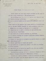 Lettre de Walther Nernst à Robert Goldschmidt