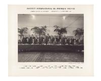 Dixième Conseil de physique Solvay, photographie de groupe
