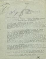 Lettre de Ladislas Marton à Charles Lefébure