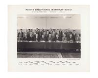 Onzième Conseil de physique Solvay, photographie de groupe