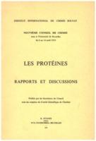 Institut international de chimie Solvay (1953). <em>Les protéines: rapports et discussions : neuvième Conseil de chimie tenu à l'Université de Bruxelles du 6 au 14 avril 1953</em>. 1953: R. Stoops